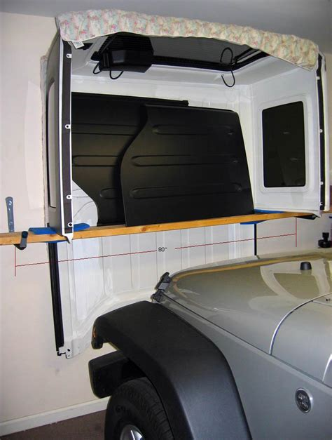Wrangler Hardtop Storage Diy Ideas