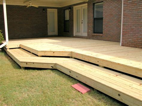 Wrap Around Deck Steps Plans