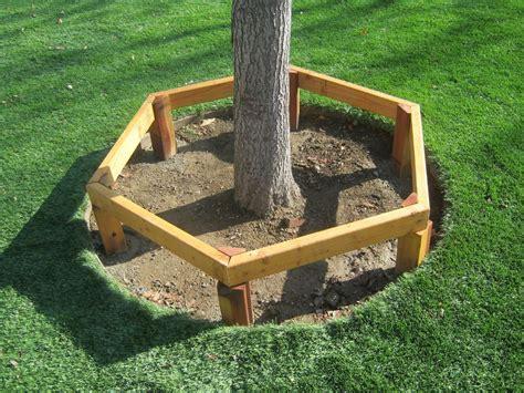 Wrap-Around-Tree-Bench-Plans-Free