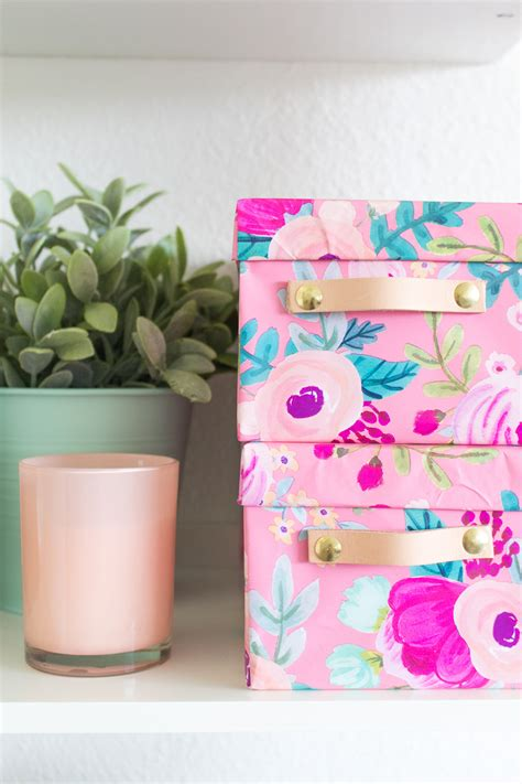 Wrapping-Paper-Box-Diy