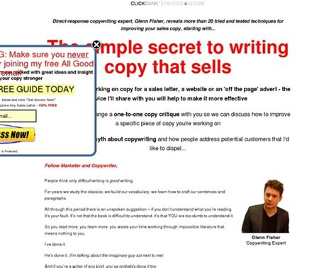 [click]write Better Copy How To Improve Your Copywriting And Make More Sales.