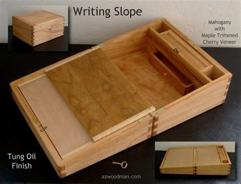 Writing Slope Woodworking Plans
