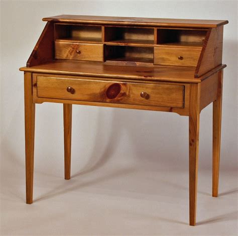 Writing-Desk-With-Tapered-Legs-Plans