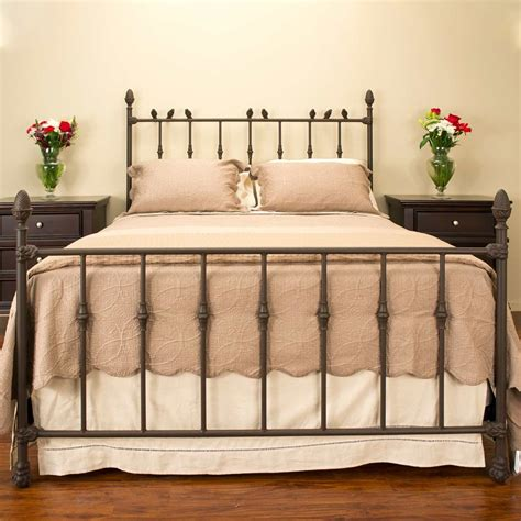 Wrought Iron Bed Frame With Birds