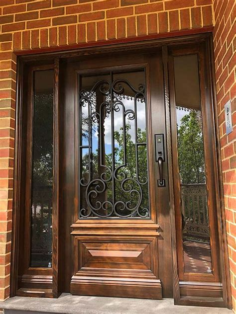 Wrought Iron Front Door Plans