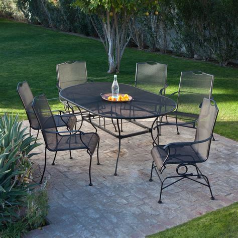 Wrought Iron Patio Furniture Plans