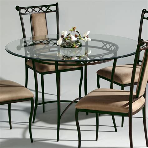 Wrought Iron Round Dining Table And Chairs