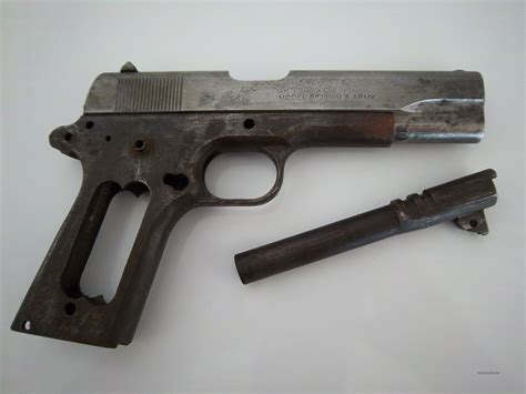 Ww1 Colt 1911 Barrel For Sale And Ww2 Issue Colt 1911