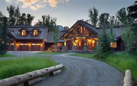 HD wallpapers log homes for sale near yellowstone