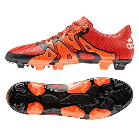 X 15.3 FG/AG Leather Mens Soccer Cleats