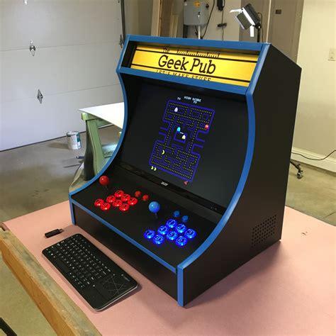 X-Arcade-Bartop-Cabinet-Plans
