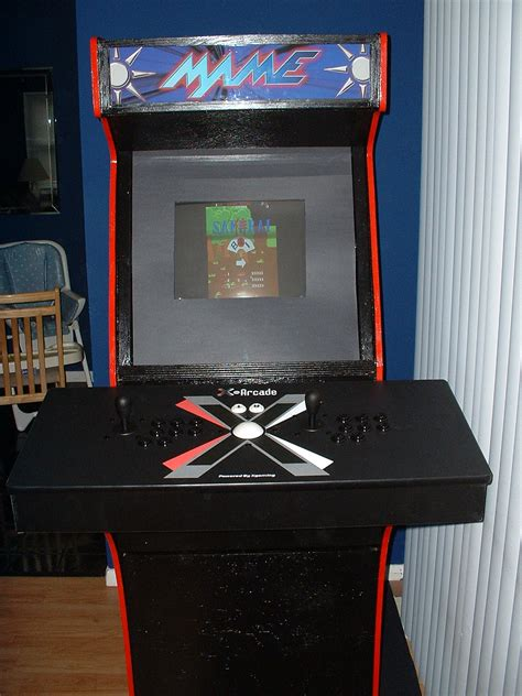 X-Arcade-Mame-Cabinet-Plans