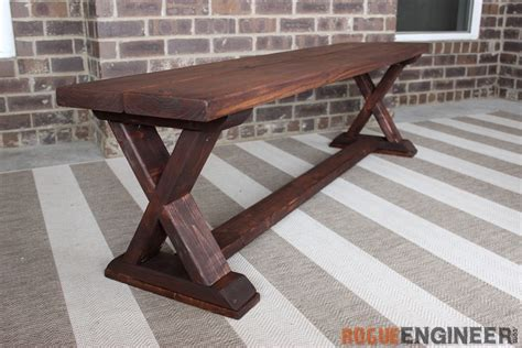 X-Brace-Bench-Plans