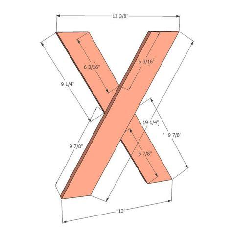 X-Leg-Picnic-Table-Plans