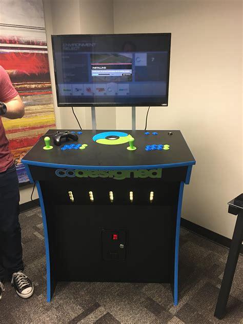 Xbox-Arcade-Cabinet-Plans