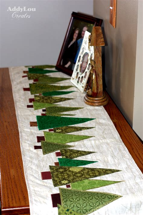 Xmas Patterns For Table Runners