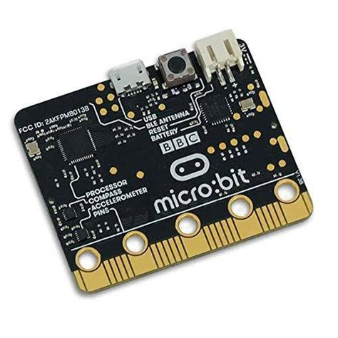 YIKESHU Microbit, bit micro-controller with motion detection, compass, LED display and Bluetooth