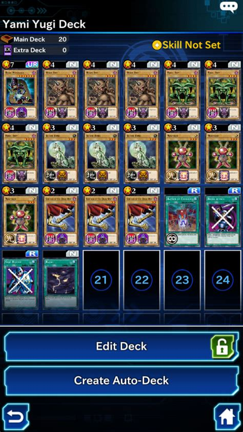 Yami Yugi Deck Build Duel Links