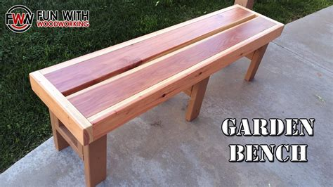 Yard Bench Plans Made Out Of 2x6 Pine