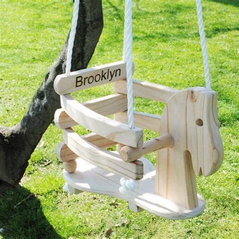Yard Outdoor Baby Swing Woodworking Plans