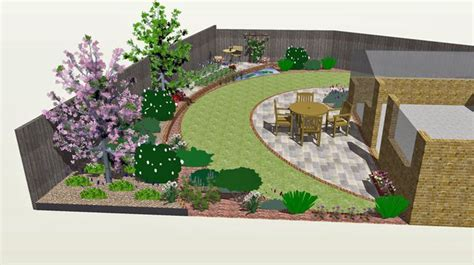 Yard Plans Odd Shaped Backyard Designs