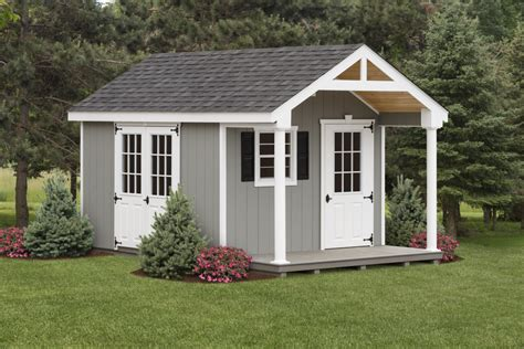 Yard Shed Plans With A Porch