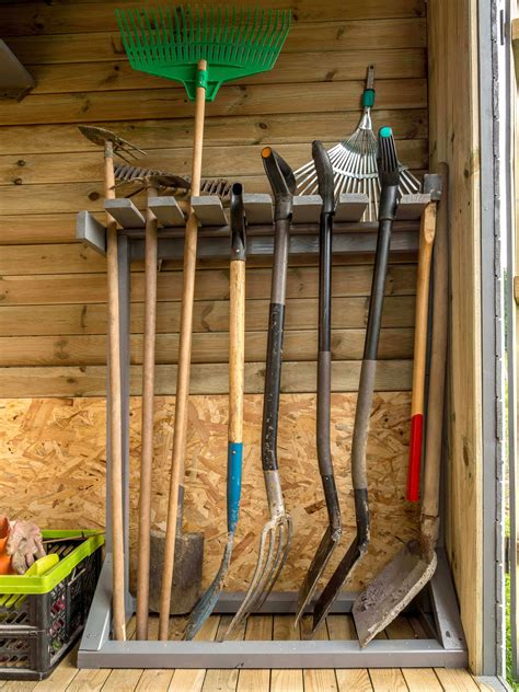 Yard Tool Rack Diy Network