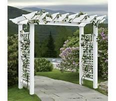 Best Yard arbor designs
