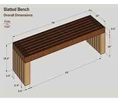 Best Yard bench plans.aspx