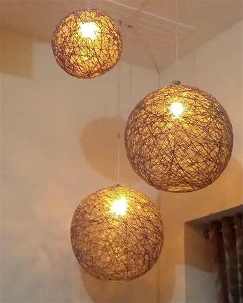Yarn-Lamp-Diy