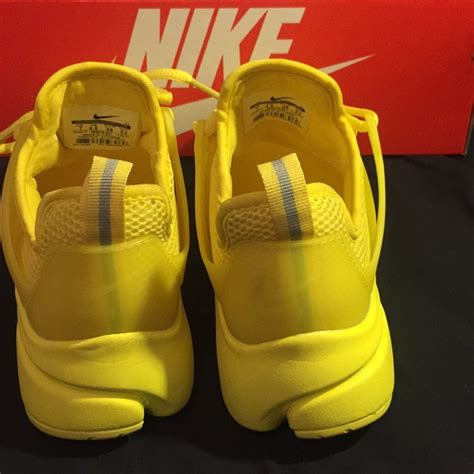 Yellow Nike Presto Sneakers