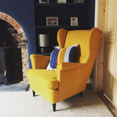 Yellow chair design Image