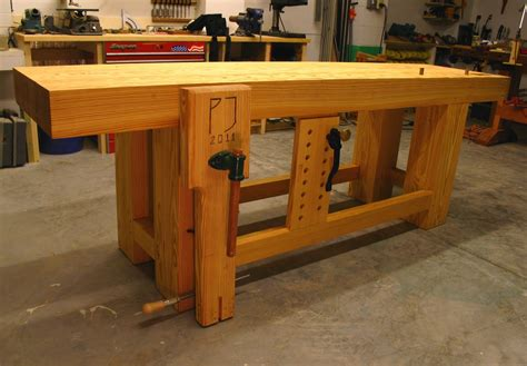 Yellow-Pine-Workbench-Plans