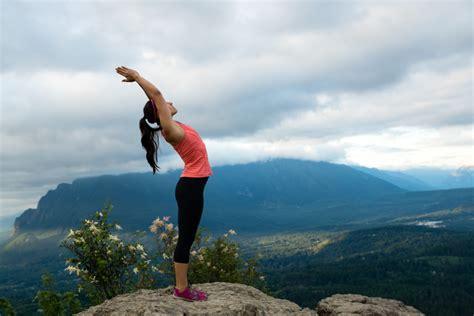 Yoga Mountain Climbing