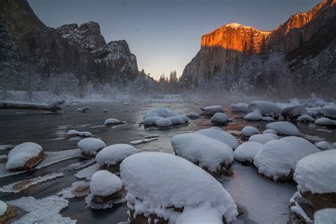 Yosemite National Park Snow