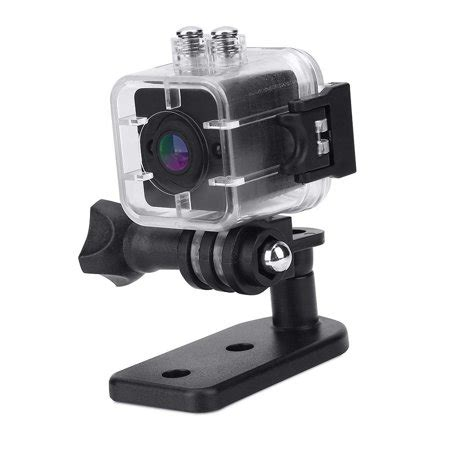 Yosoo- 1080P HD Portable Mini Infrared Waterproof Cube Action Camera Camcorder with Mounts