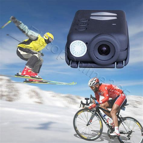Yosoo- Portable Mini 1080P HD Cube WiFi Action Camera Sports Camcorder Kit with Mounts