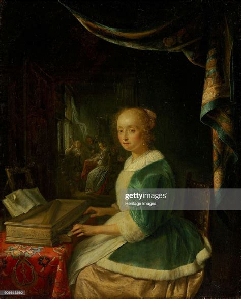 Young Woman At The Clavichord Pictures Of Shingles