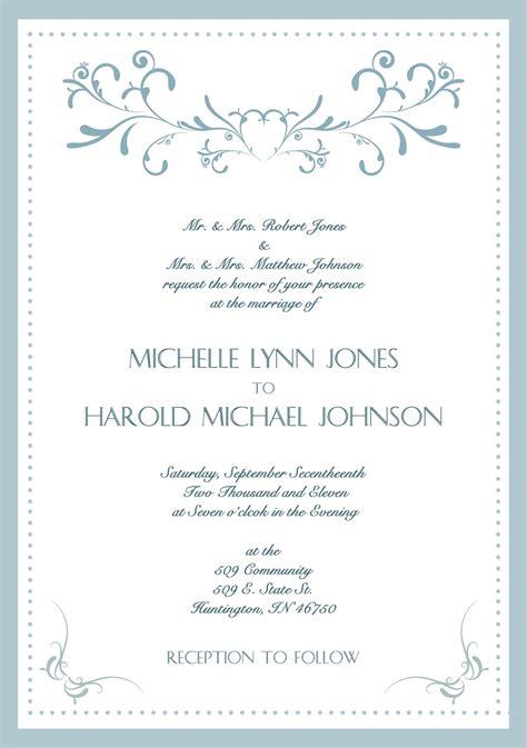 Your Wedding Invitation Cards