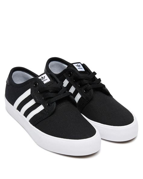 Youth Boys White Adidas Sneakers