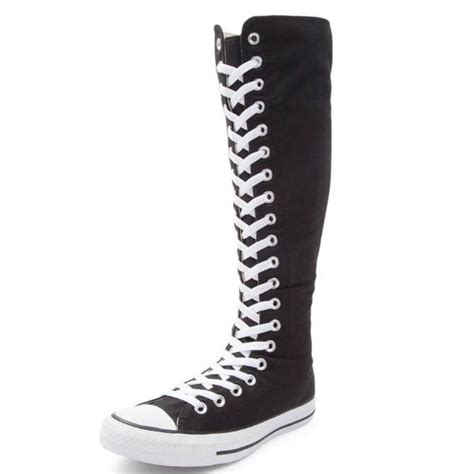 Youth Converse Knee High Sneakers