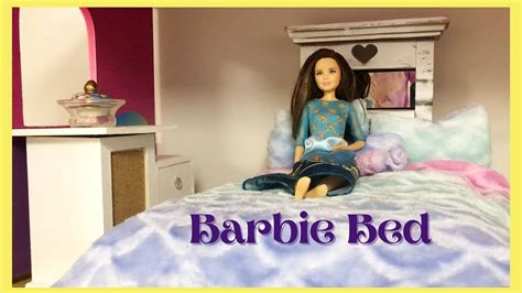 Youtube Diy Barbie Bed Tutorials