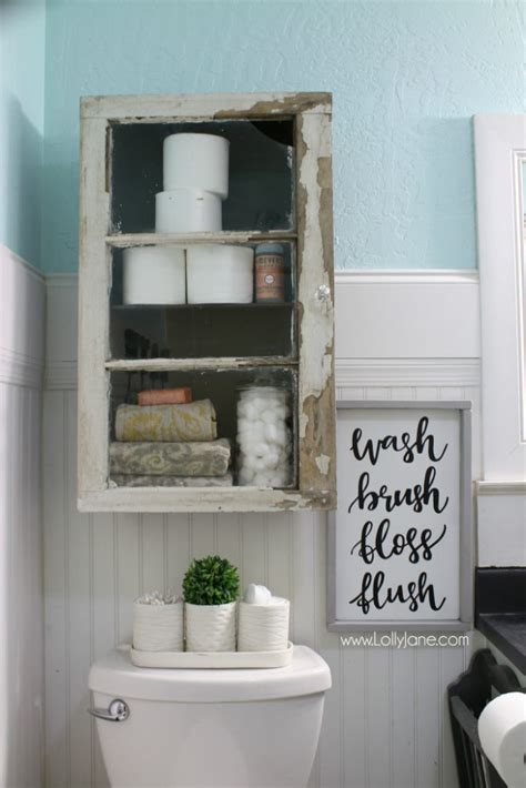Youtube Diy Bathroom Storage Cabinets