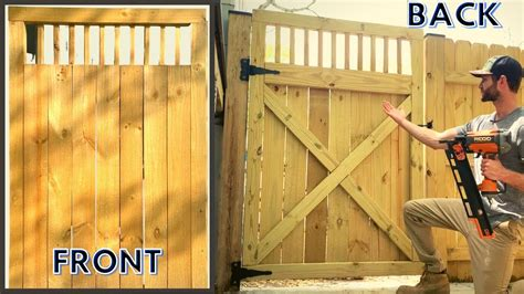 Youtube Diy Fence