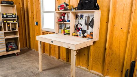 Youtube Diy Folding Workbench