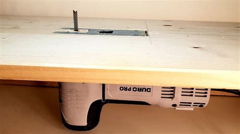 Youtube Diy Jigsaw Table With Guard