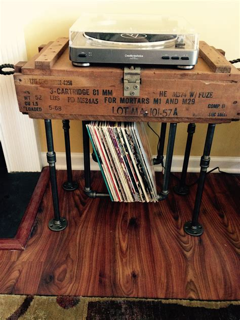 Youtube Diy Record Rack Golden