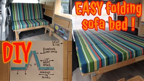 Youtube Diy Rv Sofa Bed