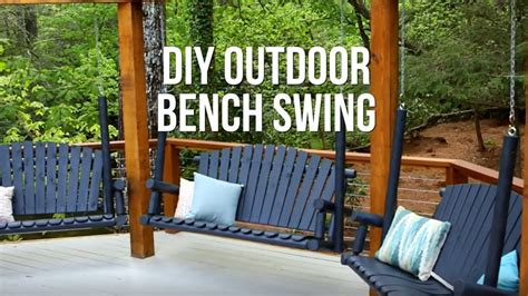 Youtube Diy Wood Bench Swing