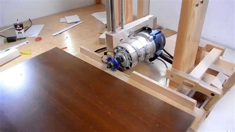 Youtube Horizontal Router Table